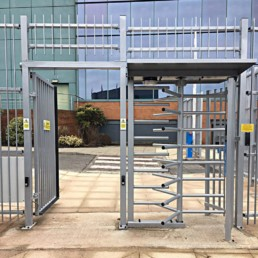SSTS4000 Full Height Turnstile and Ped Gate Security Solutions