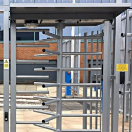 SSTS4000 Full Height Turnstile and Ped Gate