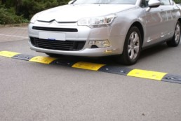 Recycled Speed Restriction Bump