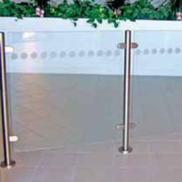 Glass Barrier Rail