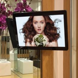 led slimline pos point of sale poe small digital android advertising displays plug and play usb 06