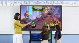 4K interactive touch screen