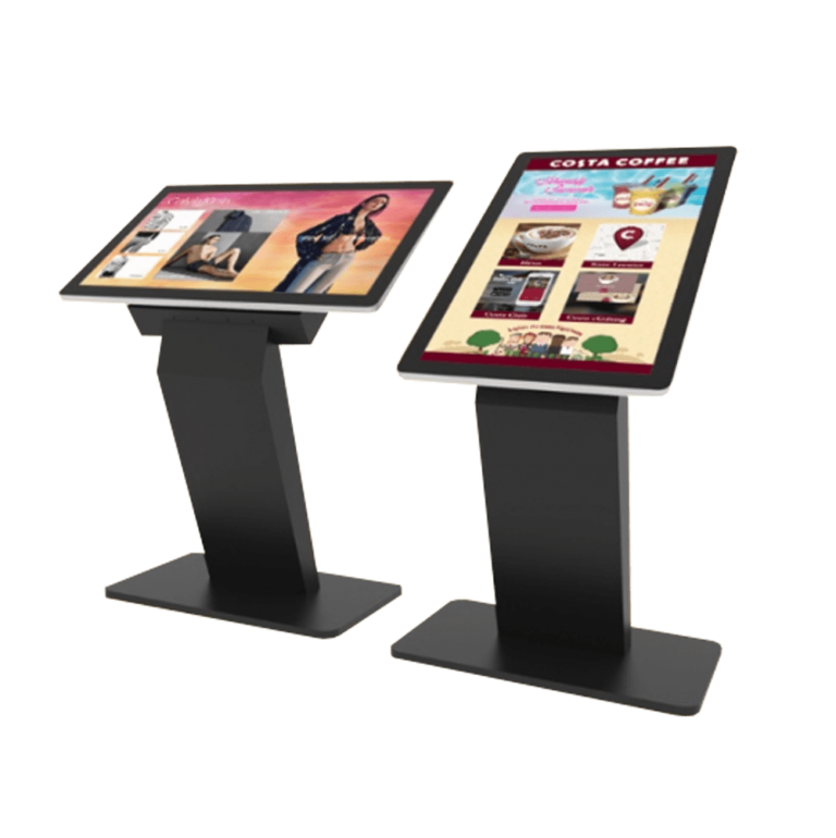 multi screen touch display kiosk