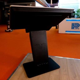 pcap freestanding touch screen kiosk table dual os windows android 10