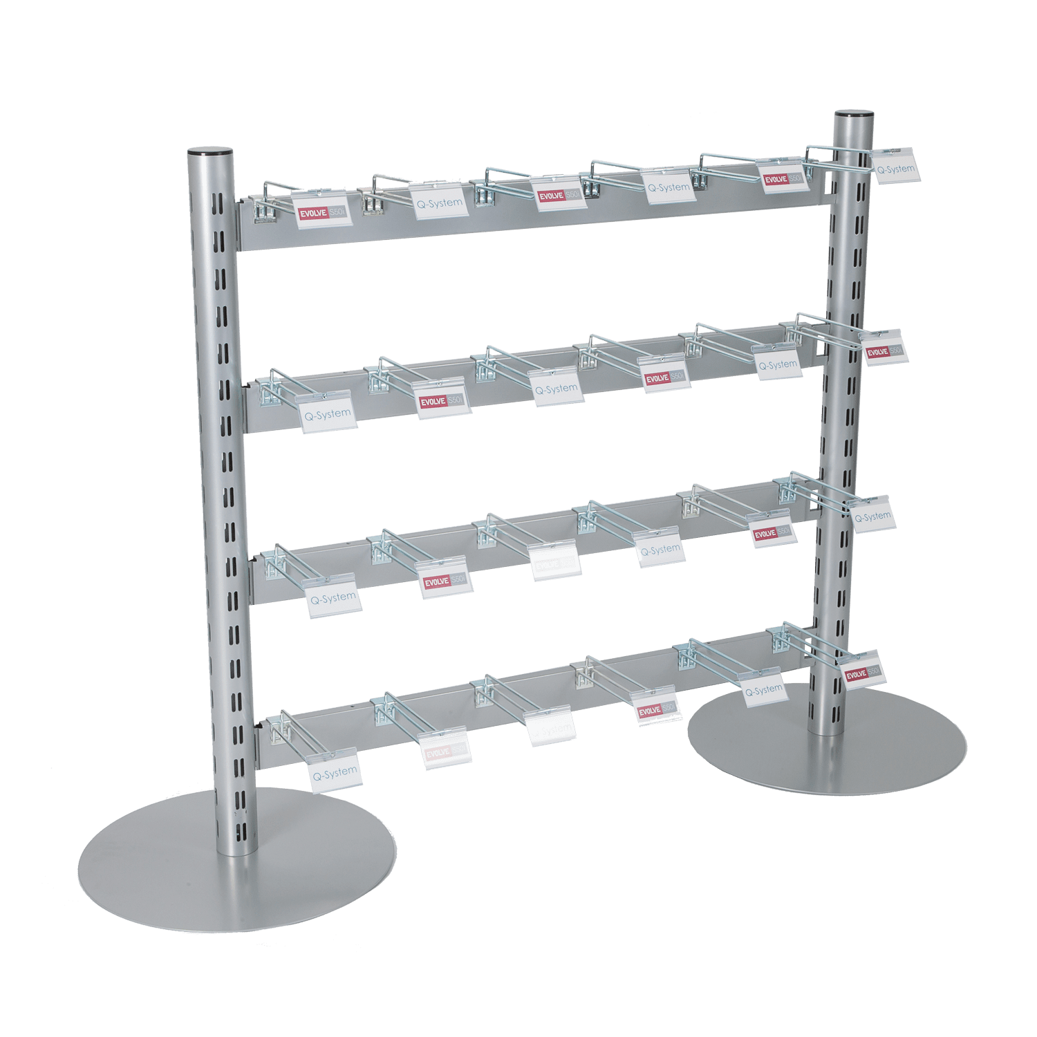 standard hook and merchandising system