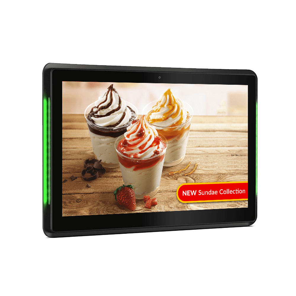10 Inch POS Android Advertising Display White Background Image 1