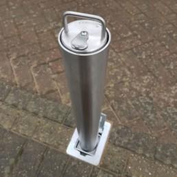 Lift Assist Stainless steel telescopic bollard 1