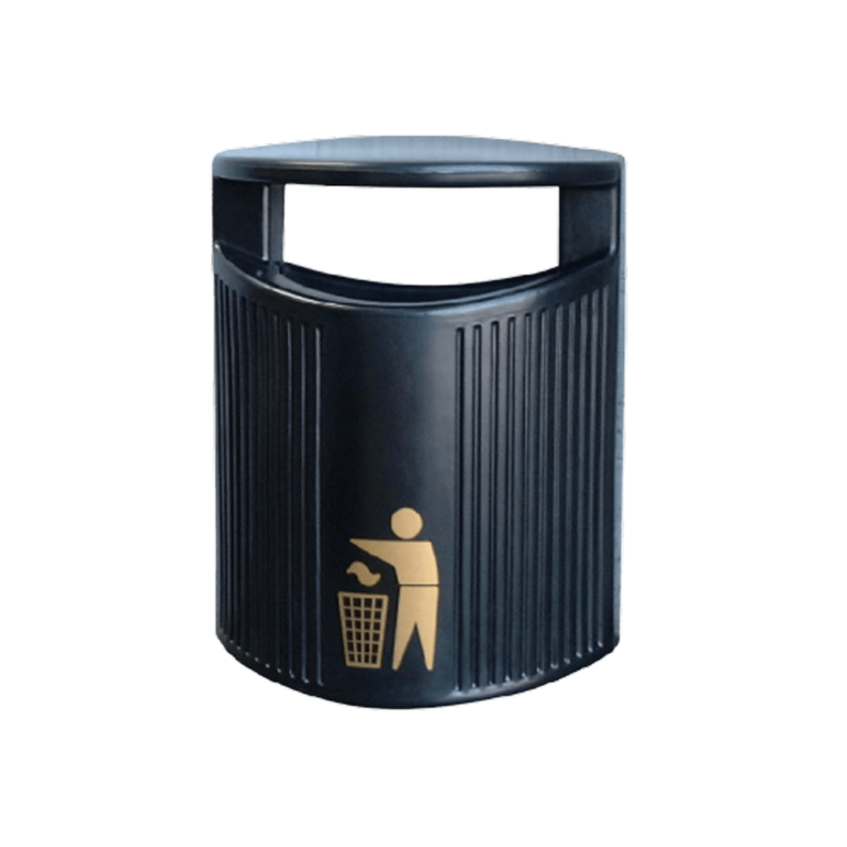 Hooded Wall Mounted Bin