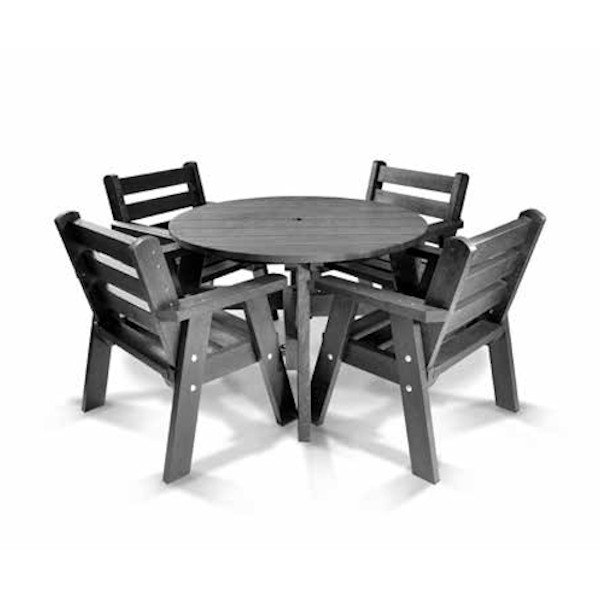 Recycled Plastic Table Set